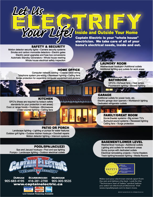 Complete Home Electrical Services