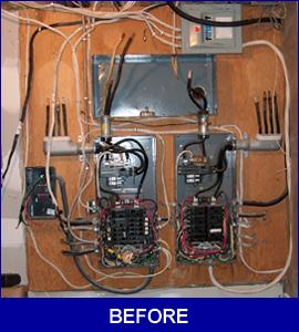 Panel Upgrade before photo