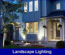 Landscape Lighting front door