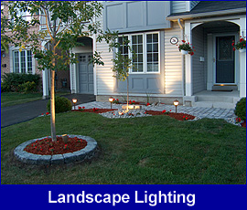 Landscape Lighting front yard