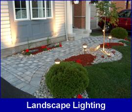Landscape Lighting patio