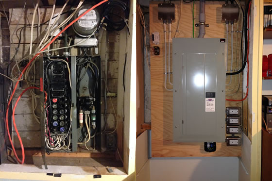 Electrical Fuse Box Upgrade : Electrical panel upgrade and replacement captain